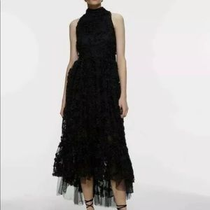 ZARA LIMITED EDITION TEXTURED ASYMMETRIC DRESS